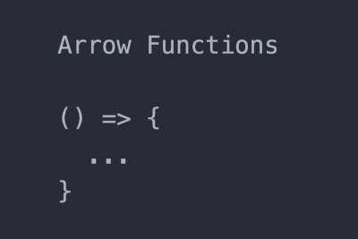 What is Arrow Functions? Part 1