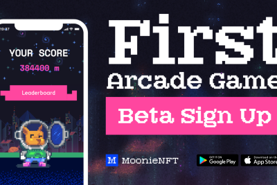 MoonieNFT Arcade Game Beta testing sign ups—Be the First to play MoonieNFT Arcade GAMES!