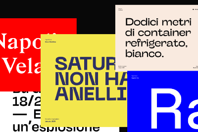 Inspography — Font selection, January 2021