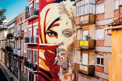 Four reasons on why Lisbon's street art scene one of the coolest in Europe