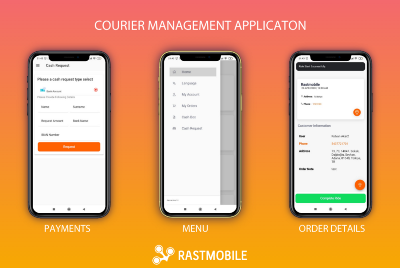 Focusing—1—A Courier app for Uber Eats like application