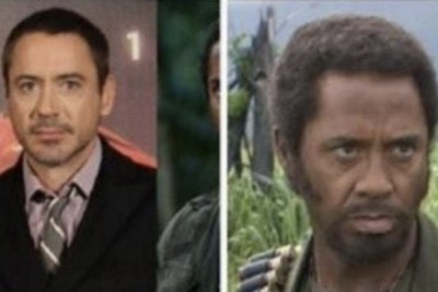"""Robert Downey Jr. Black Face Role in Movie """" Tropic Thunder """" Might Set His Career Back"""