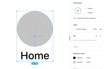 Simple steps to create a responsive component in Figma