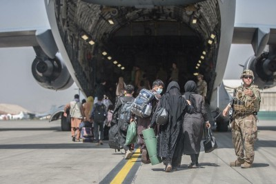 The Aftermath of the Evacuation of Afghan Refugees