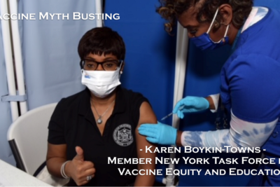 Vaccine Myth Busting: the New York Task Force for Vaccine Equity and Education - Karen Boykin-Towns