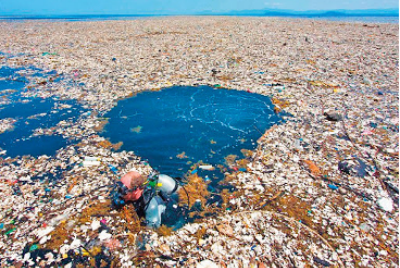 You're using the Pacific Ocean as a trashcan. How can you stop it?