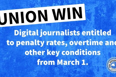 Digital journalists join the Award