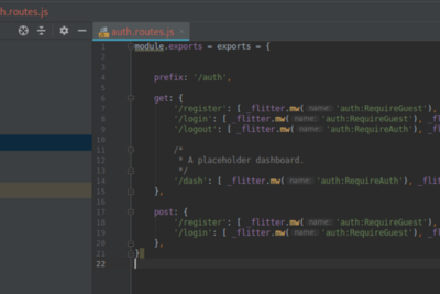 Developing an App with Flitter