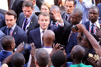 How much money does France make in French-speaking Africa?