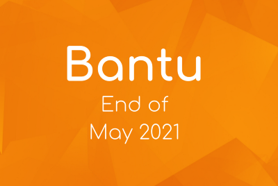 Important Updates to wrap up the month of May 2021.