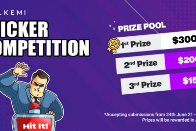 Alkemi Network Competition Month: ROUND 2 STICKER COMPETITION