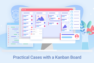 Practical Cases with a Kanban Board