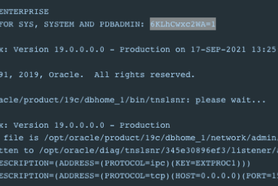 How to run Oracle DB in Docker