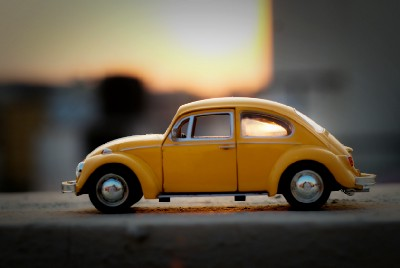 When I was a kid, my grandparents had a Volkswagon beetle car…