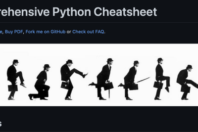 This is the biggest Python cheat sheet