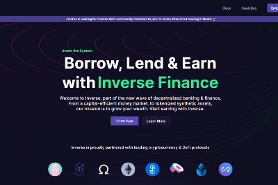 The New User Experience at Inverse Finance