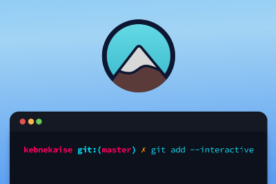 """Git """"lets add stuff"""" interactively"""