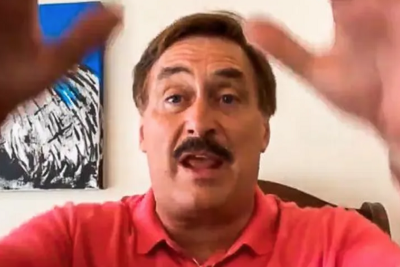"""My Pillow Guy Mike Lindell: """"Donald Trump Will Be Back In Office In August."""""""