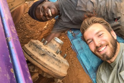 How an African Bushman and a College Kid Became Friends