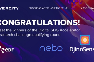 Meet the winners of the Digital SDG Accelerator cleantech challenge qualifying round