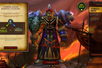 The Burning Crusade Classic's phased content release