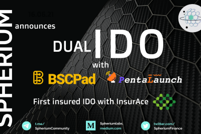 Spherium Finance Announces Dual IDO Across BSCPad and PentaLaunch, First Insured IDO