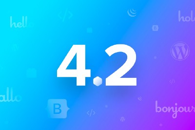 Blocs 4.2—Start building better websites with Bootstrap 5