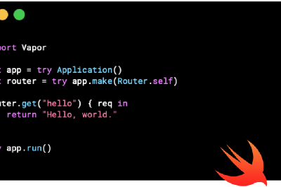 Getting Started with Server Side Swift and 💧Vapor3