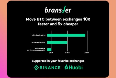 The fastest way to move crypto between exchanges