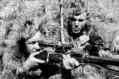 The Soviet Sharpshooters in WWII