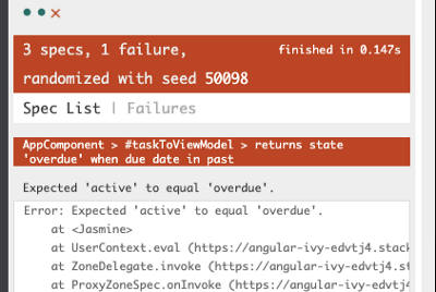 Unstable unit tests? Avoid state modification!