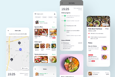 Bolt Food — Designing a food delivery service for a Unicorn company.