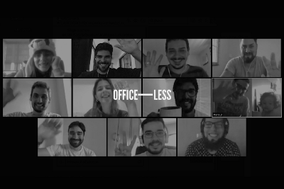 Less offices, more possibilities, here's to: Officeless