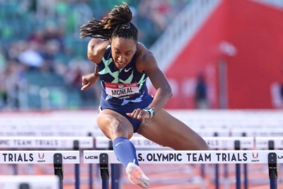 The IOC stole the Olympics from Brianna McNeal and criticized her religion