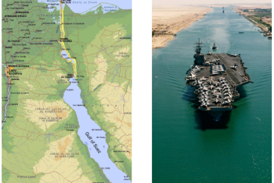 Why Suez Canal has its importance?