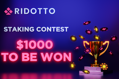 Ridotto's Staking Competition is Live!