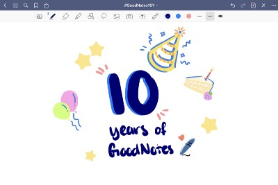 Cheers to 10 Years of GoodNotes!