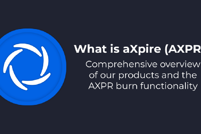 What is aXpire (AXPR)?