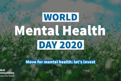 World Mental Health Day 2020: It's Time to Scale Up Investment in Mental Health