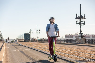 LINK by Superpedestrian scooters launch in Bordeaux