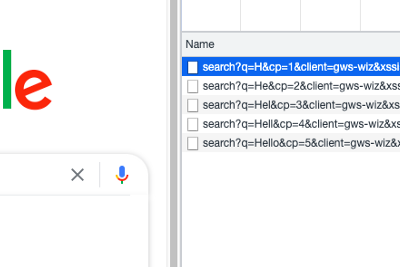 Search Autocomplete using TRIE.