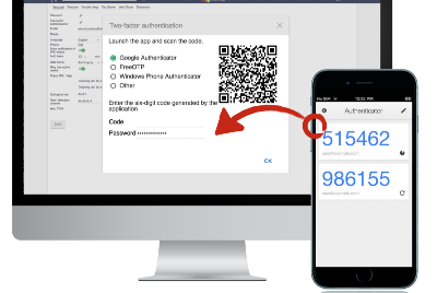 Two Factor Authentication in Laravel applications