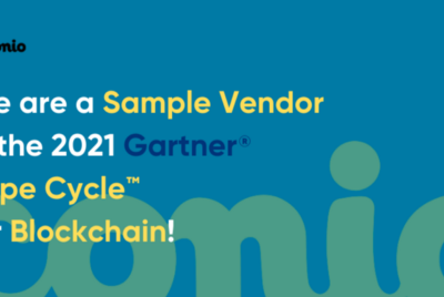 Conio positioned as a Sample Vendor in the 2021 Gartner® Hype Cycle™ for Blockchain.