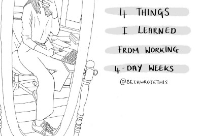 4 Things I've Learned From Working 4-Day Weeks