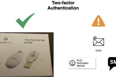 Using Titan Security Key to protect your Google Cloud account