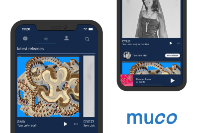 muco: music streaming for the true of heart