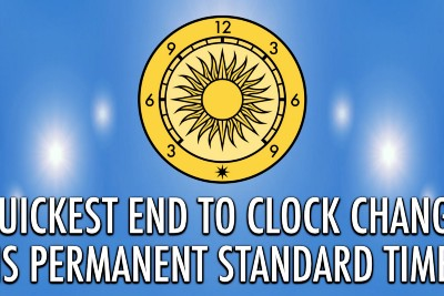 Quickest End to Clock Change Is Permanent Standard Time
