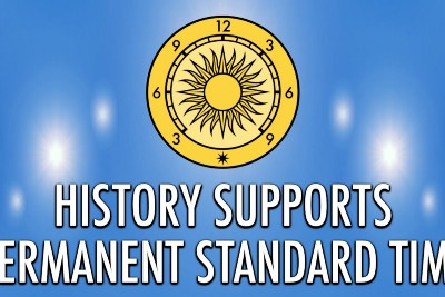 History Supports Permanent Standard Time