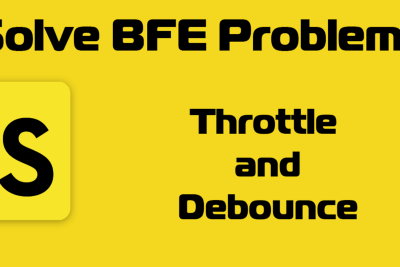 Solving JavaScript Problems from Bigfrontend (BFE): Throttle and Debounce