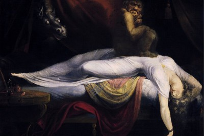 Horror Vacui and 'The Nightmare' (1781) by Henry Fuseli.
